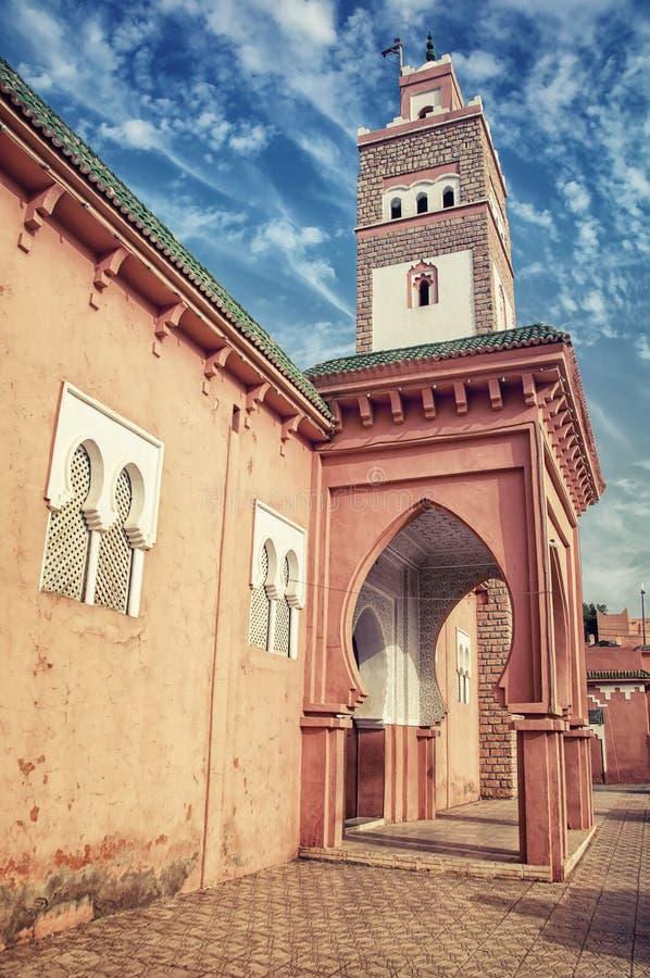 Ouarzazate in Marokko royalty-vrije stock afbeeldingen