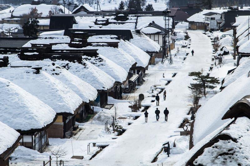 Ouchi Juk w Japan fotografia royalty free