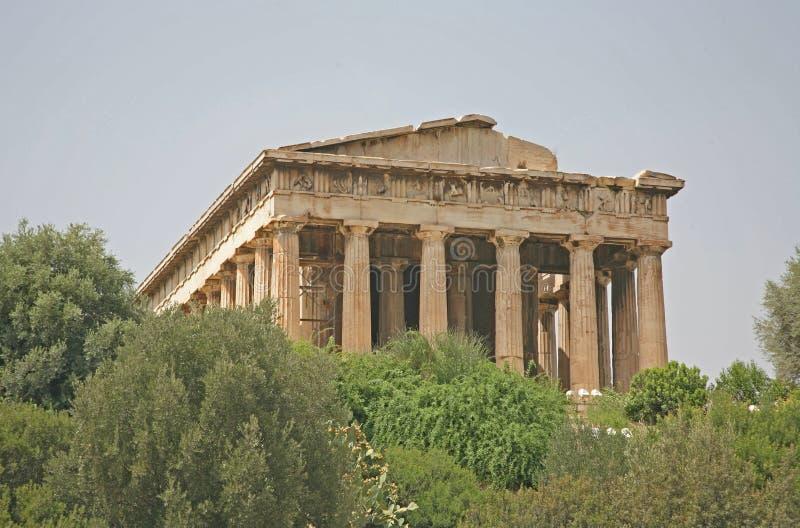 Oud Agora, Athene Royalty-vrije Stock Afbeelding