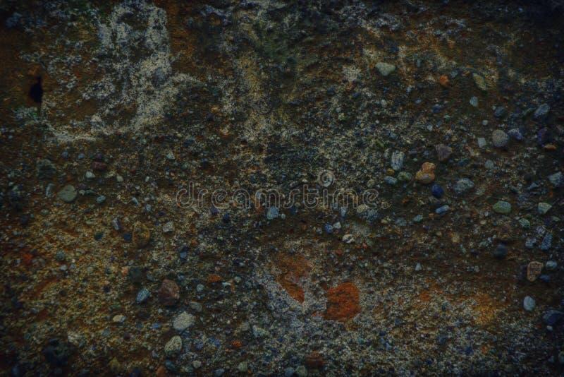 Oud als de textuur van Mars, de achtergrond van de steenmuur of rotsoppervlakte - goed voor website of mobiele apparaten stock foto's