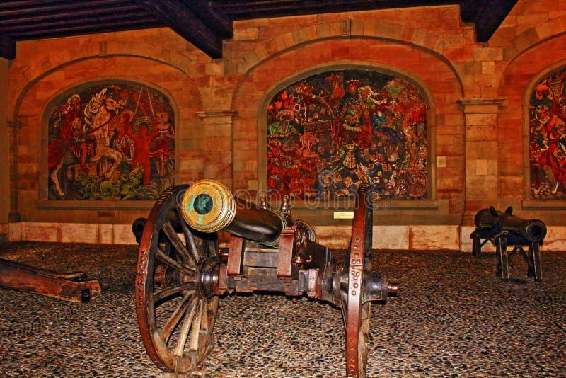Oud Arsenaal Genève royalty-vrije stock afbeelding
