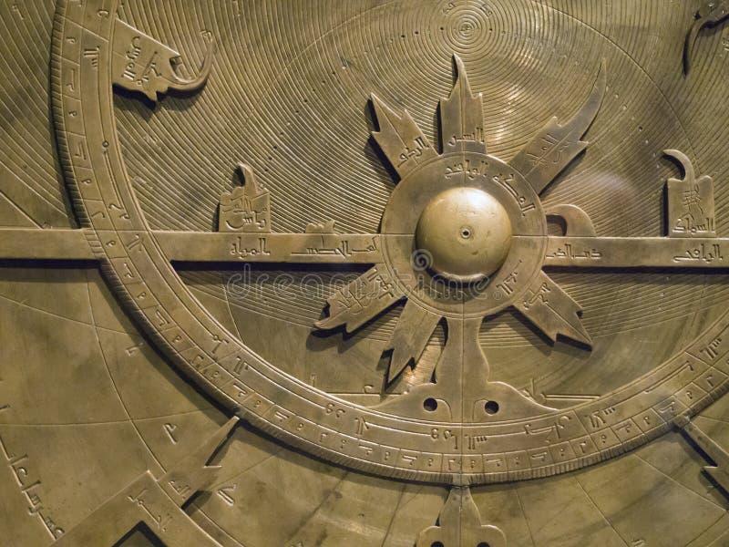 Oud Astronomisch Instrument royalty-vrije stock foto