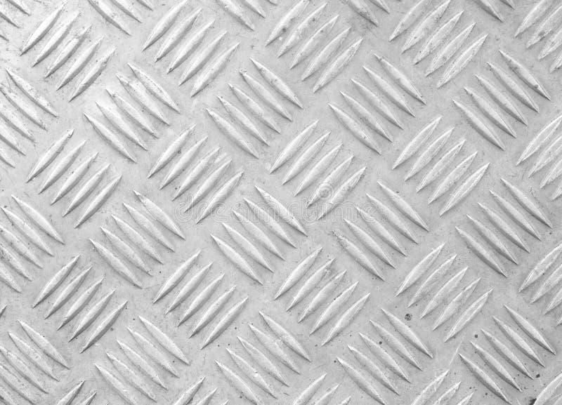 Oud blad van aluminium stock afbeelding