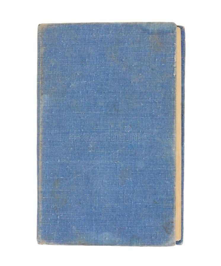 Oud blauw boek royalty-vrije stock foto's