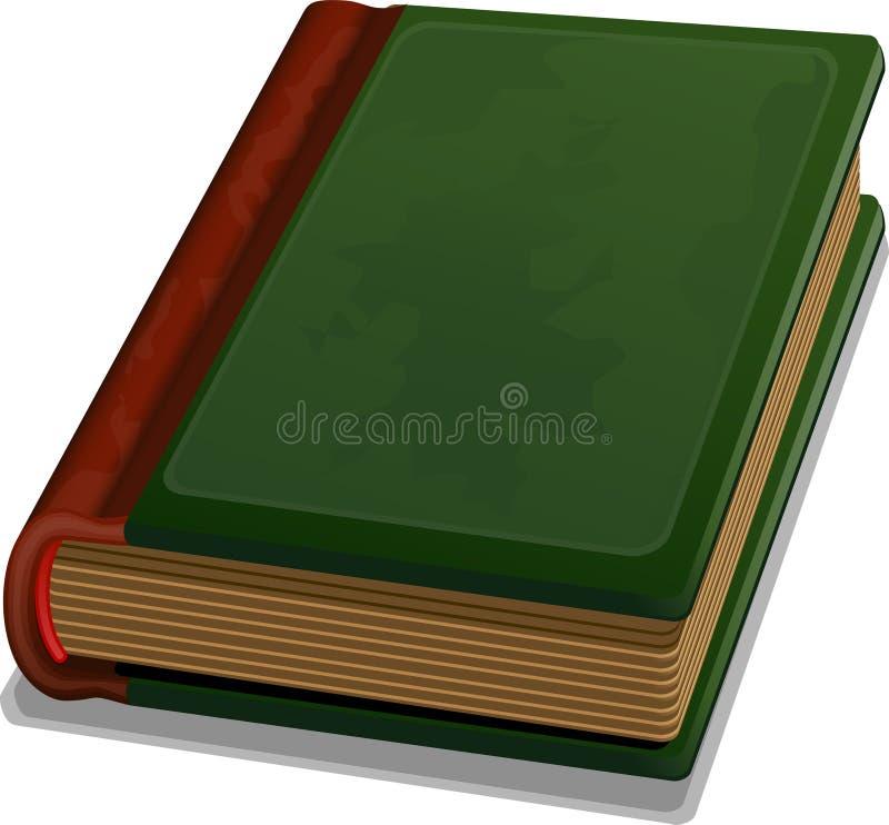 Oud boek vector illustratie