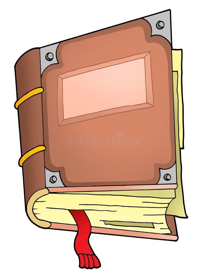Oud boek 2 stock illustratie
