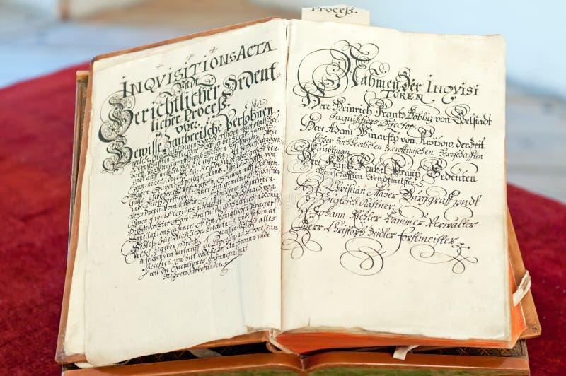 Oud Boek royalty-vrije stock foto's