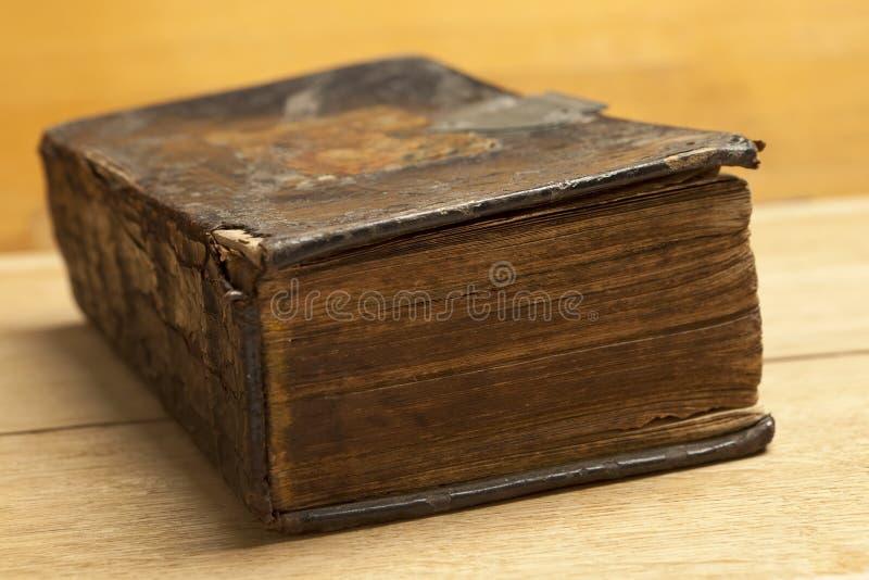 Oud boek. royalty-vrije stock foto's