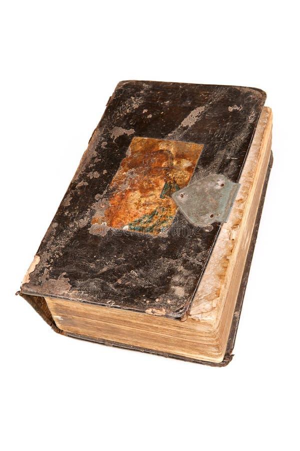 Oud boek. stock afbeeldingen