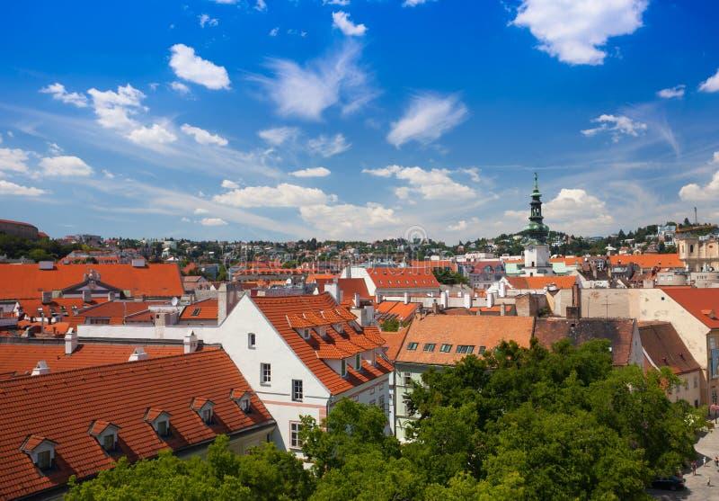 Oud Bratislava van de binnenstad stock foto's
