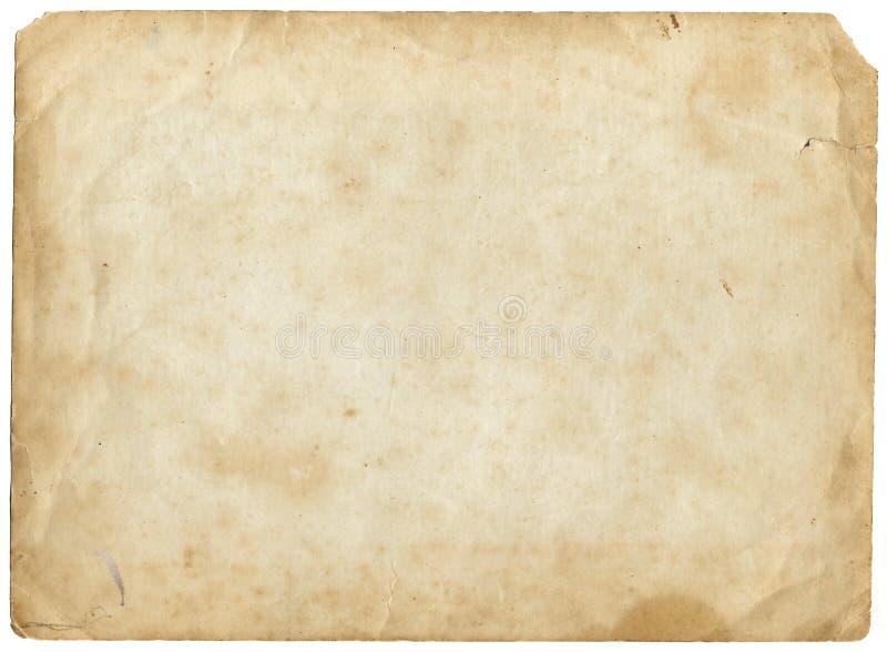 Oud bruin document royalty-vrije stock foto