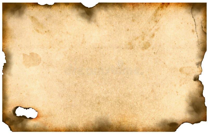 Oud bured document royalty-vrije stock foto