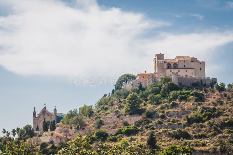 Oud Catalaans huis royalty-vrije stock foto's