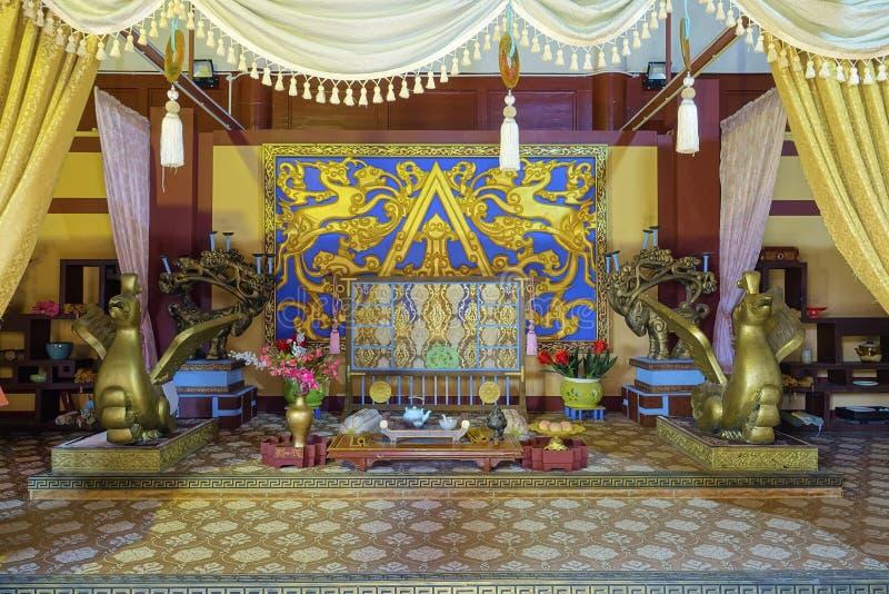 Oud Chinees paleis stock afbeeldingen