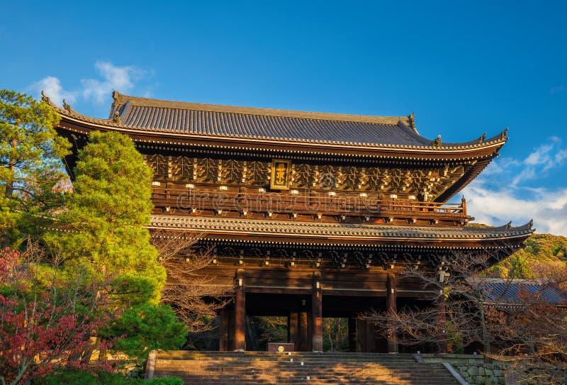 Oud chion-in Tempel in Kyoto stock afbeeldingen
