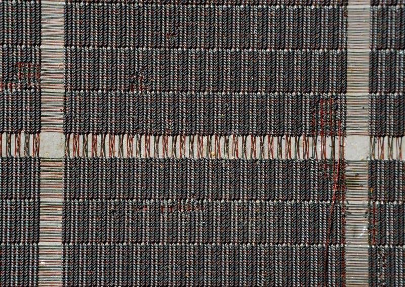 Oud computergeheugen royalty-vrije stock afbeelding