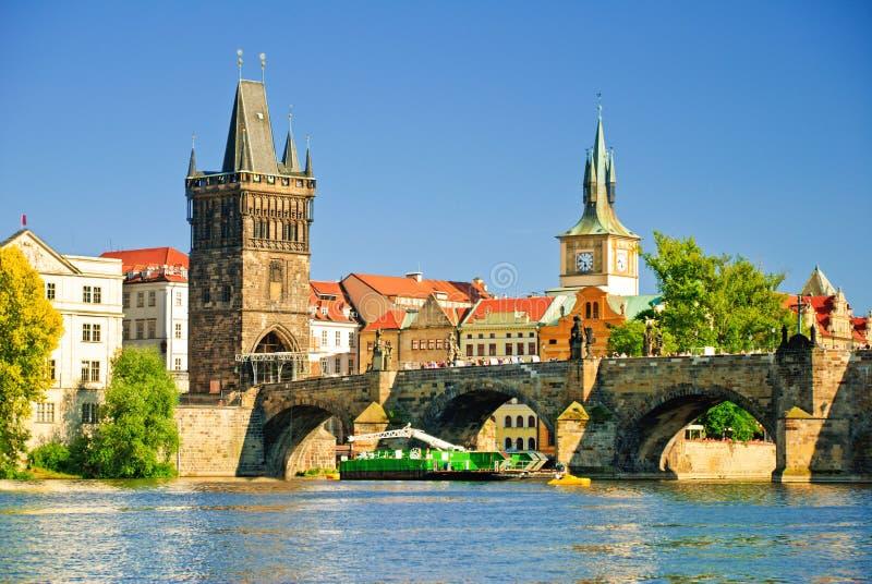Oud de stad in van Praag royalty-vrije stock foto