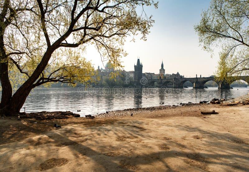 Oud de stad in van Praag royalty-vrije stock afbeeldingen