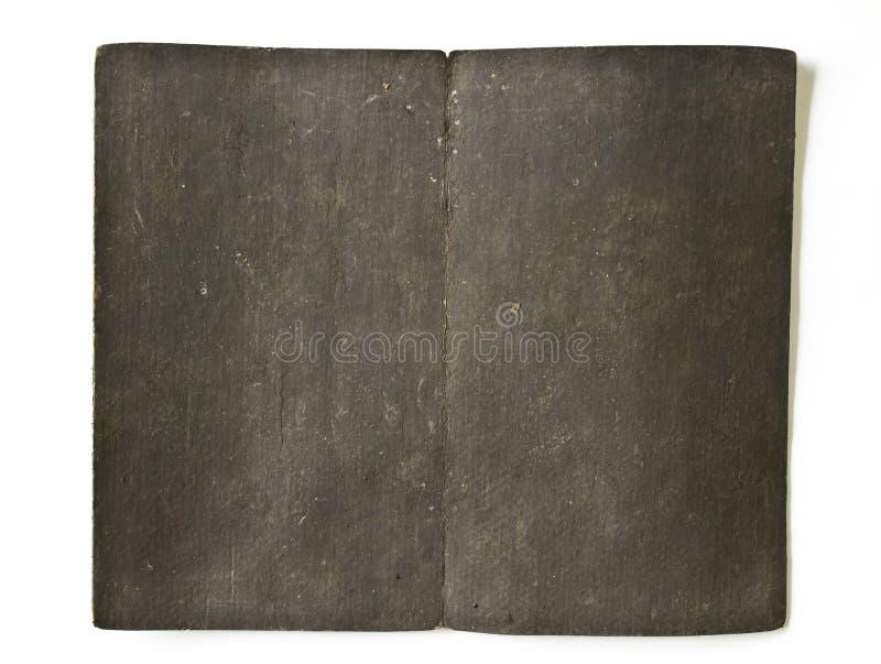 Oud dekkingsboek royalty-vrije stock afbeelding