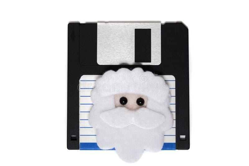 oud disketteconcept stock foto's