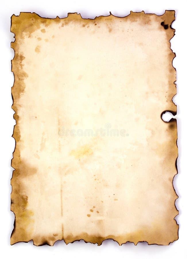 Oud document 08 stock illustratie