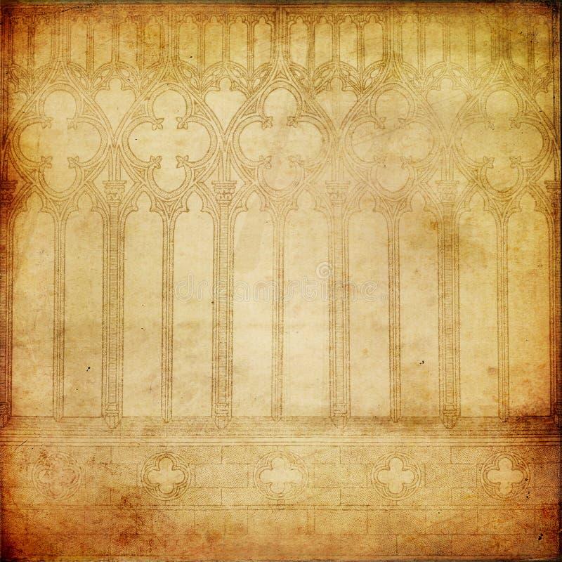 Oud document royalty-vrije illustratie