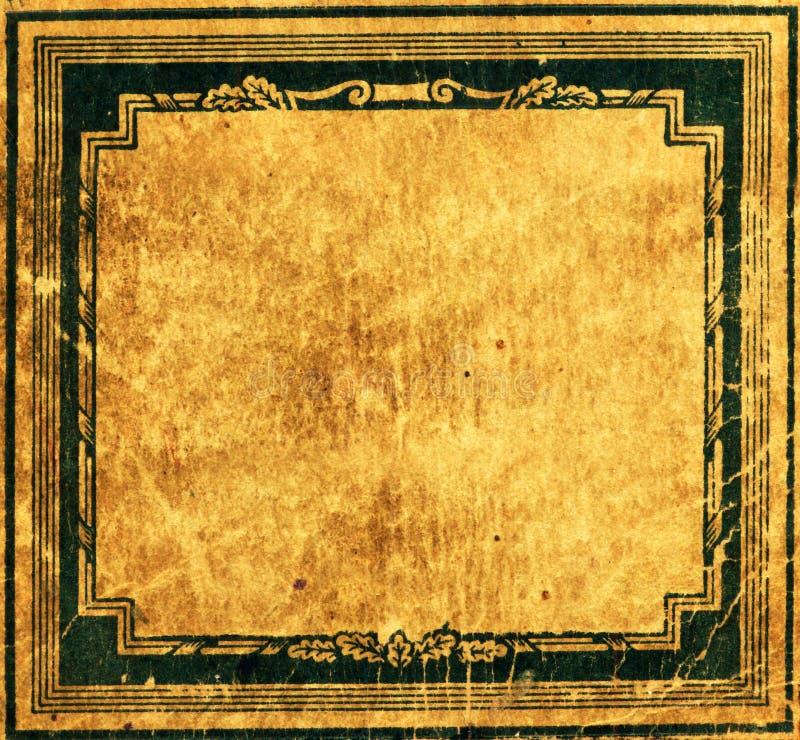 Oud document vector illustratie