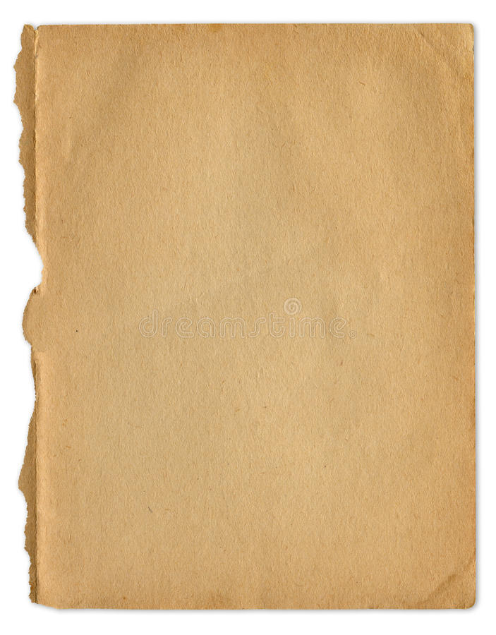 Oud Document stock foto