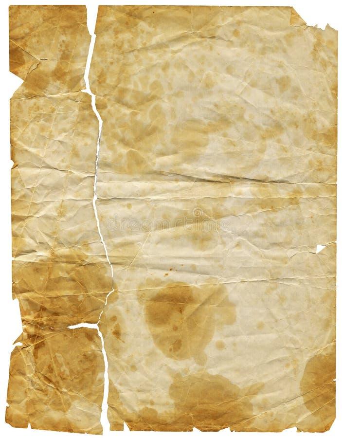 Oud Document 3 (inbegrepen weg) royalty-vrije stock foto's