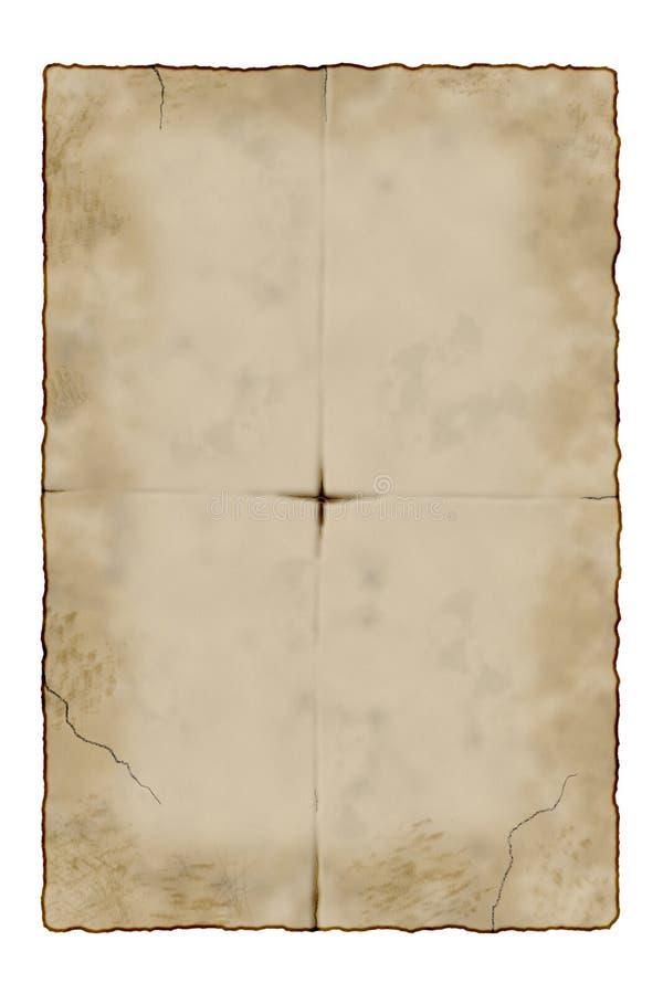 Oud document royalty-vrije stock foto