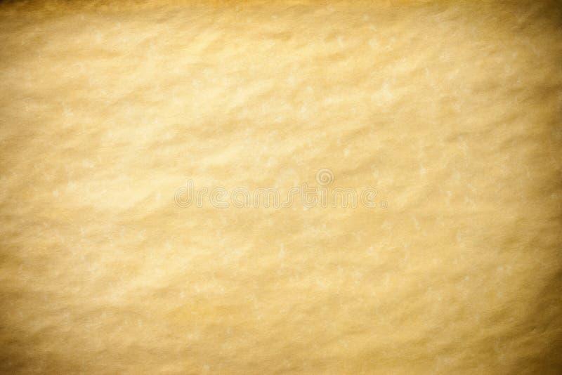 Oud Document Bruin Perkament stock afbeelding