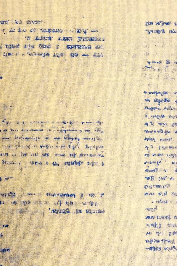 Oud document met brieven royalty-vrije stock afbeelding