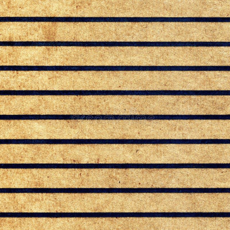 Oud Document met Lijnen stock foto's