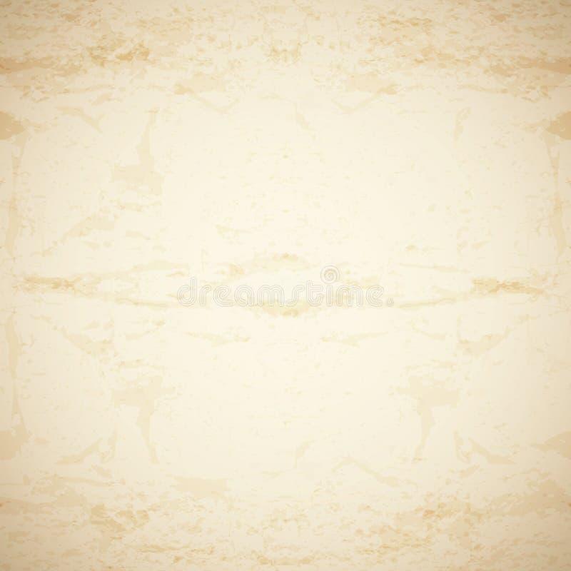 Oud document Vector textuur vector illustratie
