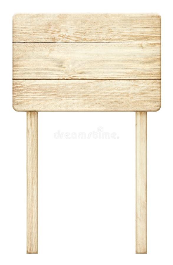 Oud doorstaan houten roudteken royalty-vrije stock foto