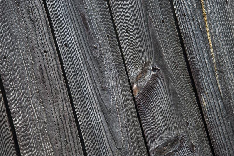 Oud doorstaan schuurhout, spijkers, stock afbeeldingen