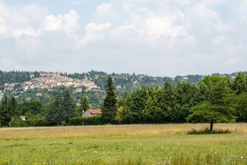 Oud dorp in de Provence royalty-vrije stock foto