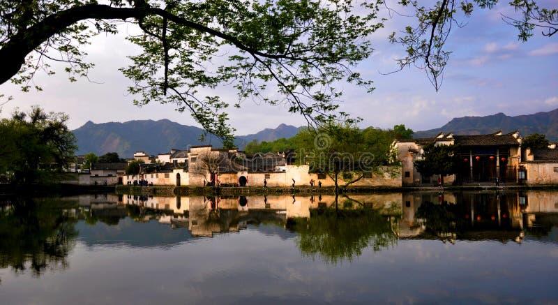 Oud Dorp hongcun China royalty-vrije stock foto's