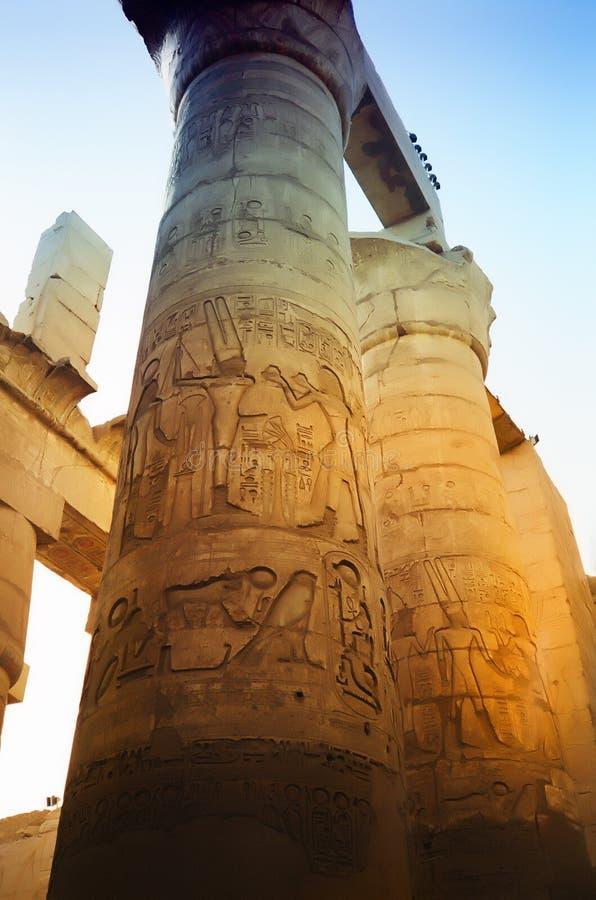 Oud Egypte royalty-vrije stock afbeelding