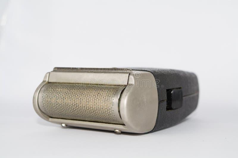 Oud elektroscheerapparaat stock afbeelding