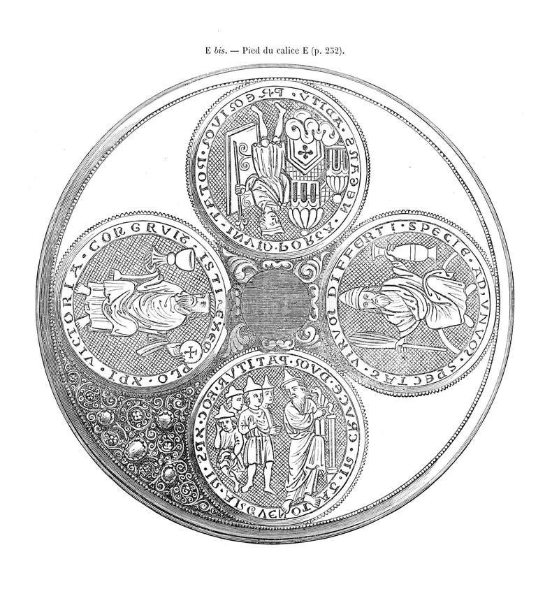 Oud en hostorical beeld royalty-vrije stock afbeelding