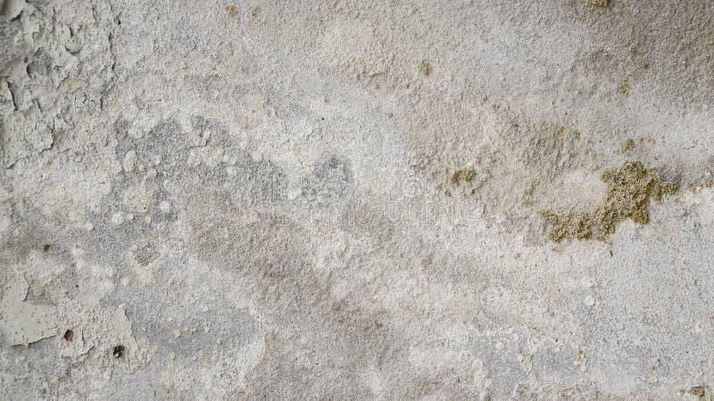 Oud en verslechter concrete muur royalty-vrije stock afbeeldingen