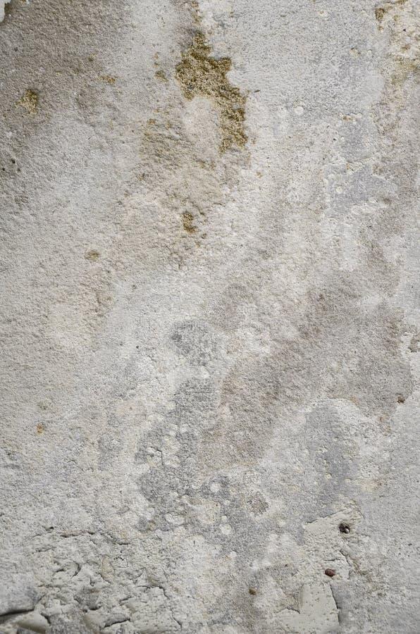 Oud en verslechter concrete muur stock fotografie