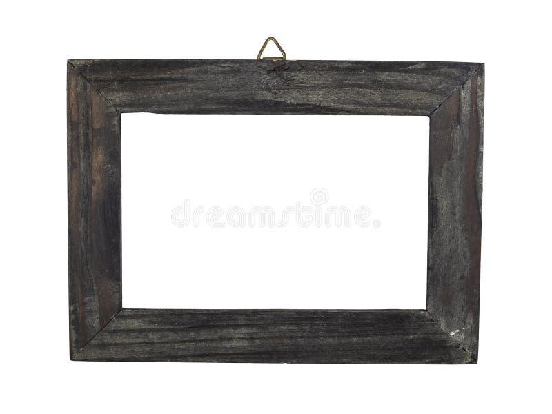 Oud en vervormd houten kader royalty-vrije stock fotografie