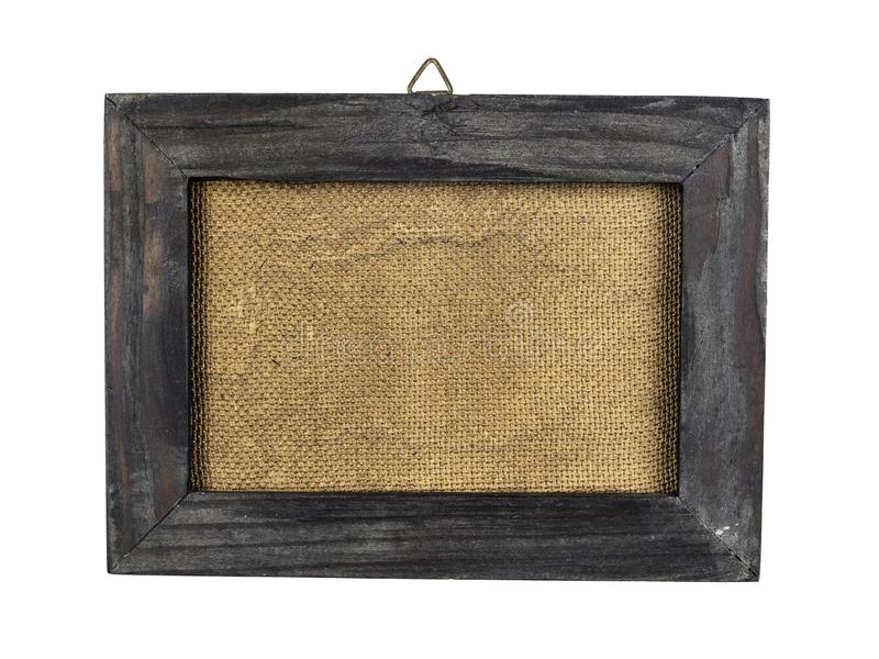 Oud en vervormd houten kader royalty-vrije stock foto