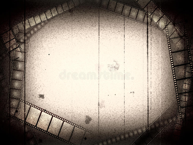 Oud filmframe stock foto's