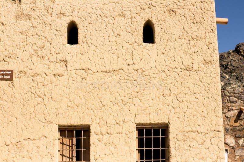 Oud fort beroemd voor bouw oude die architectuur voor binnenland en buitenkanten wordt gebruikt behang en zandige geweven stock afbeeldingen