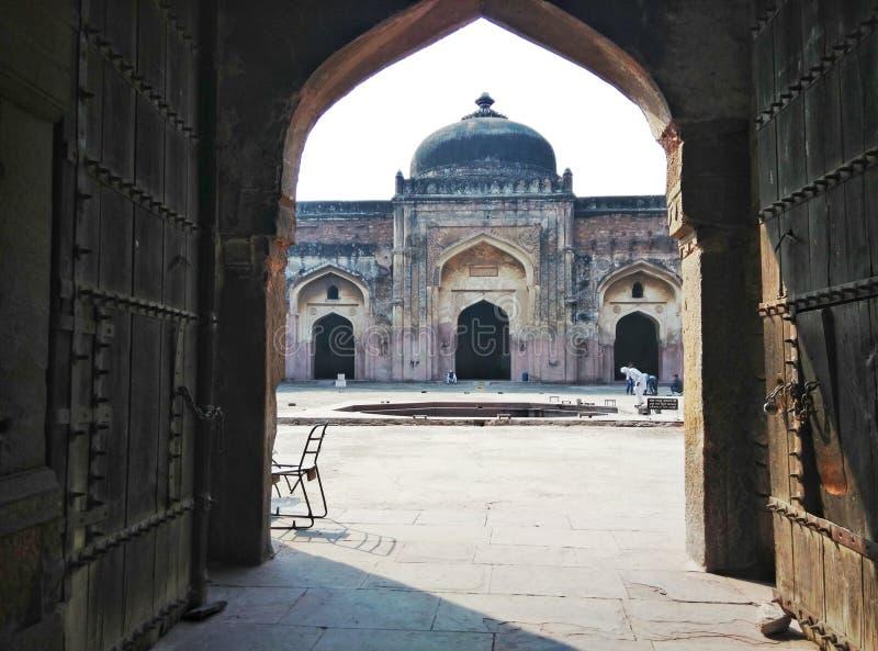 Oud fort mashid stock foto