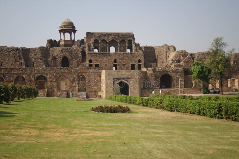 Oud Fort, New Delhi royalty-vrije stock fotografie