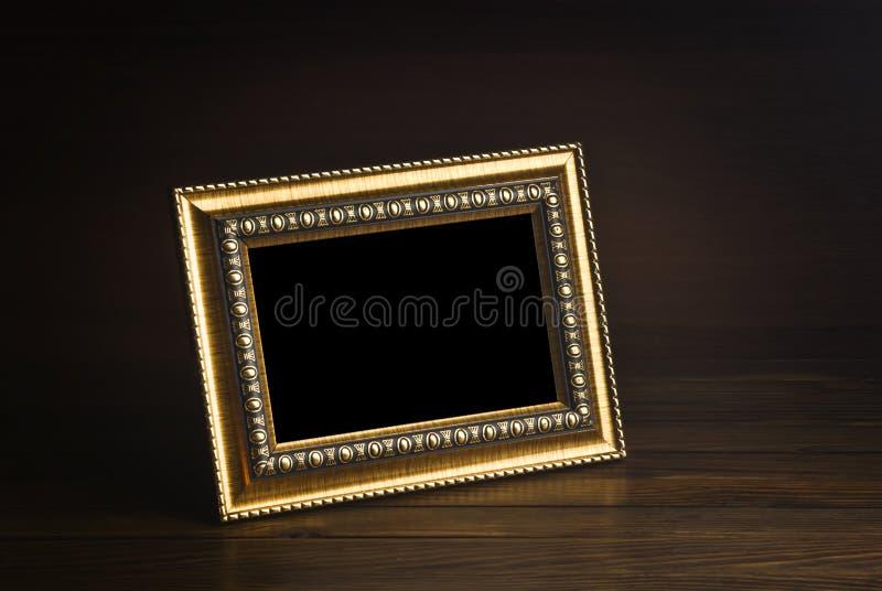 Oud fotoframe stock fotografie